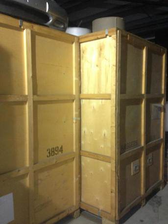250 cubic feet crate