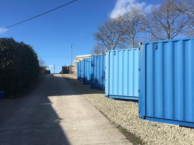 Storage Containers In Torrington North Devon Self Storage Devon
