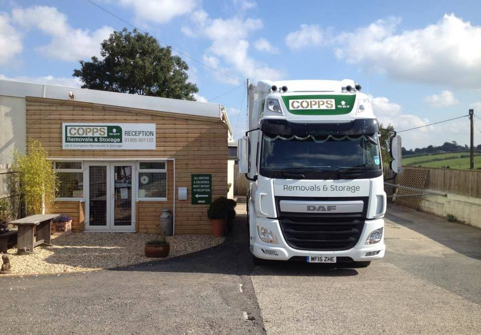 Copps Removals to France.
